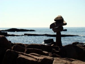 Modern Inuksuk, Artist's Point, Grand Marais, MN